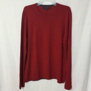 Banana Republic Dark Red Silk Cashmere Sweater M